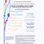 Réunion Cross-Linking Horus Pharma à la Polyclinique de l'Atlantique
